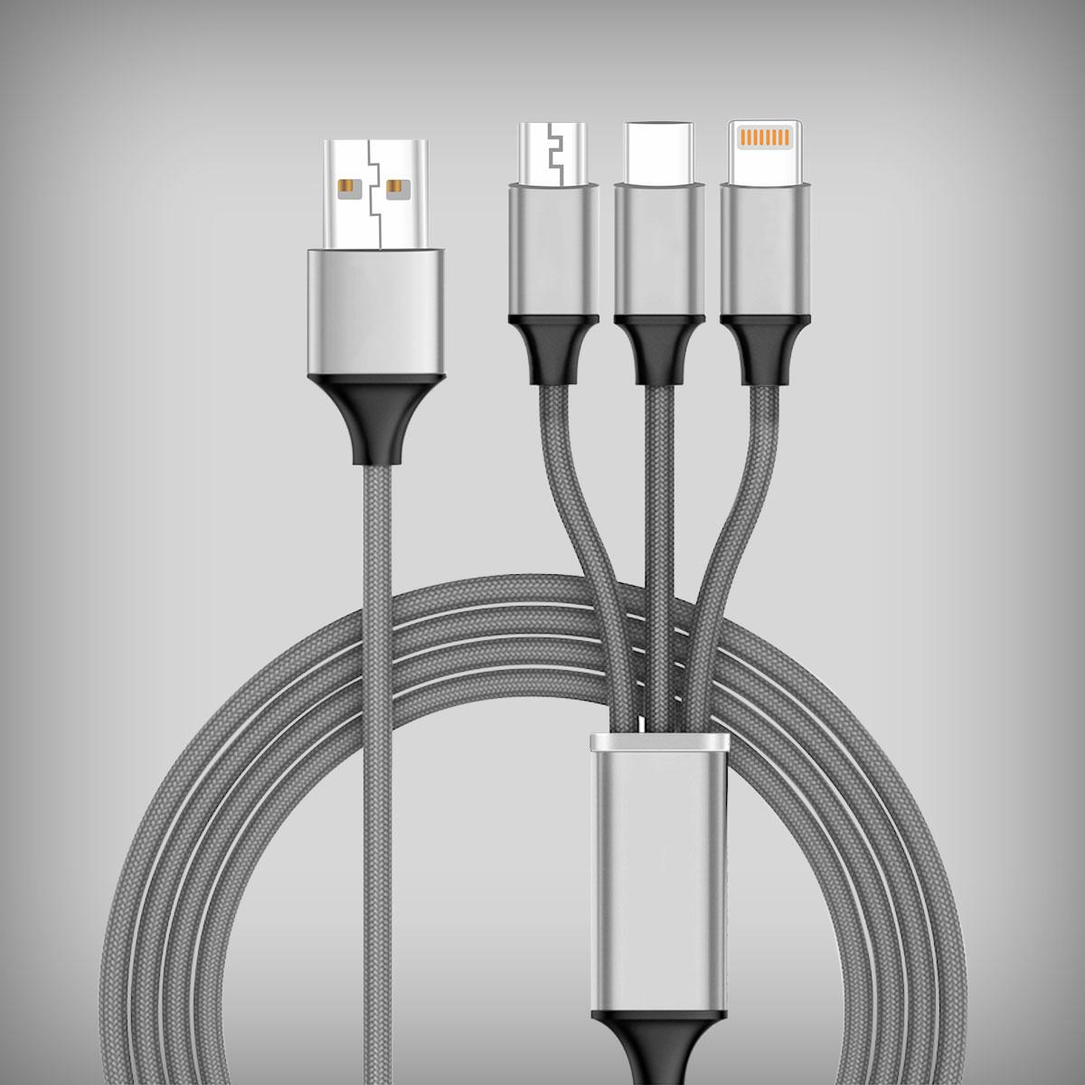 4FT-3N1-NL-TYP-C-USB-GY